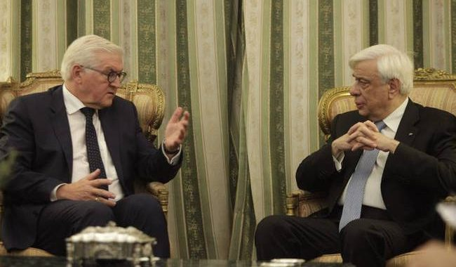 Επίσκεψη στην Ελλάδα πραγματοποιεί ο Γερμανός προέδρος