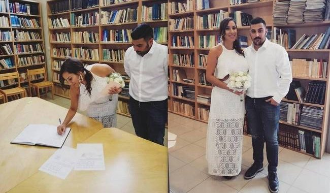 Πωλίνα Φιλίππου - Τριαντάφυλλος Παντελίδης: Παντρεύτηκαν με πολιτικό γάμο – Οι πρώτες φωτό
