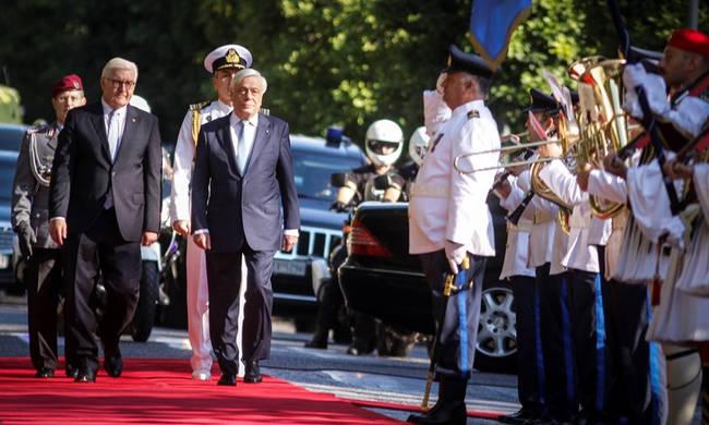 LIVE: Η επίσκεψη του προέδρου της Γερμανίας στην Αθήνα