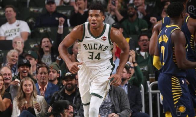 NBA: Ξανά «διπλός» ο Αντετοκούνμπο, νέα νίκη για Μπακς (video)