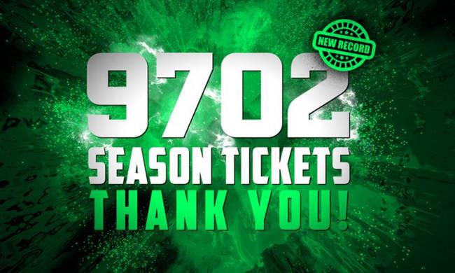 ΚΑΕ Παναθηναϊκός ΟΠΑΠ: 9.702 «ευχαριστώ» για την... πράσινη τρέλα-διαρκείας του κόσμου! (photos)