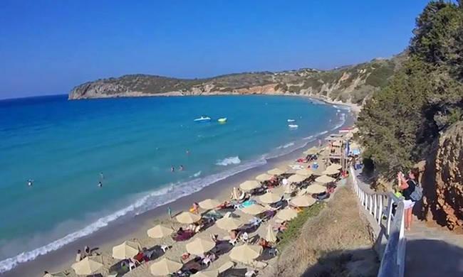Βούλισμα: Η απόλυτη εξωτική παραλία του Λασιθίου με τα τιρκουάζ νερά