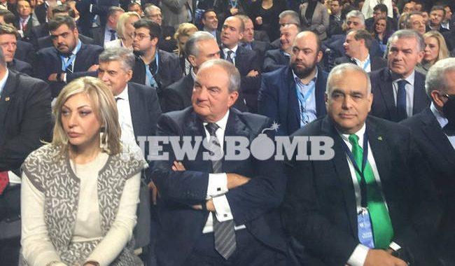 Καραμανλής στο 12ο συνέδριο της ΝΔ: Στόχος μας μια ισχυρή κυβέρνηση με ορίζοντα τετραετίας