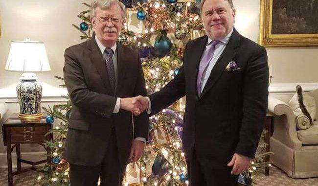 ΗΠΑ: Συνάντηση Κατρούγκαλου – Μπόλτον στον Λευκό Οίκο – Τι συζήτησαν