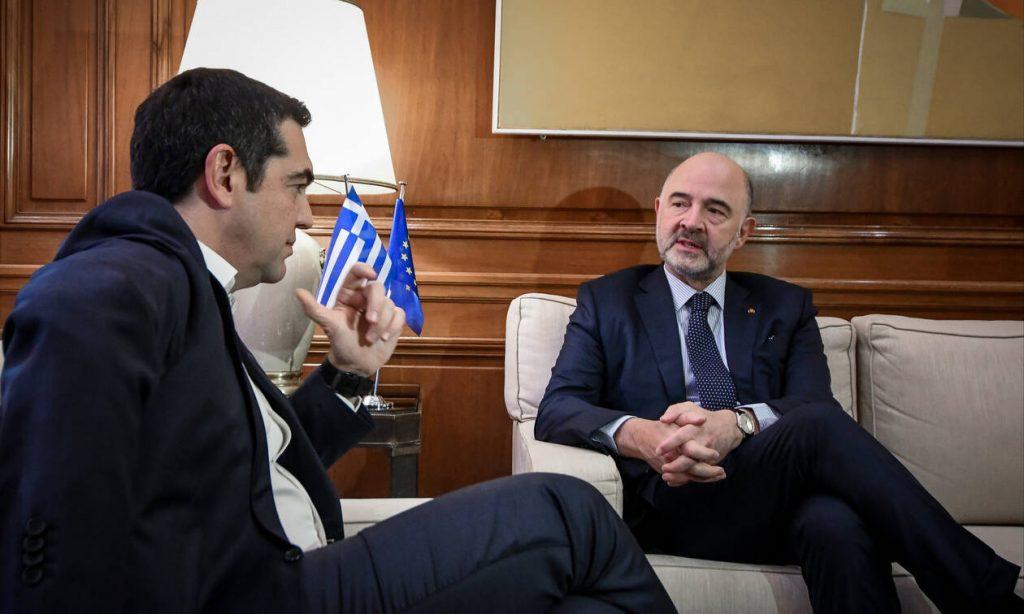 Τσίπρας: Η Ελλάδα δεν βρίσκεται πια σε μνημόνιο – Μοσκοβισί: Αναμένω θετικό αποτέλεσμα τον Μάρτιο