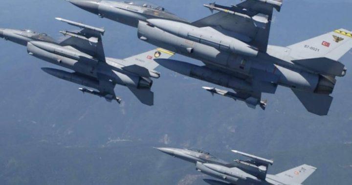 Θρίλερ στο Αιγαίο με τουρκικό F 16: Έσβησε ο κινητήρας του κατά τη διάρκεια παραβιάσεων