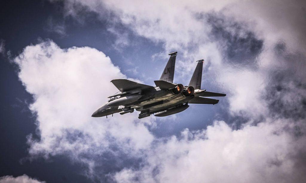 Μαχητικά αεροσκάφη πάνω από την Αθήνα