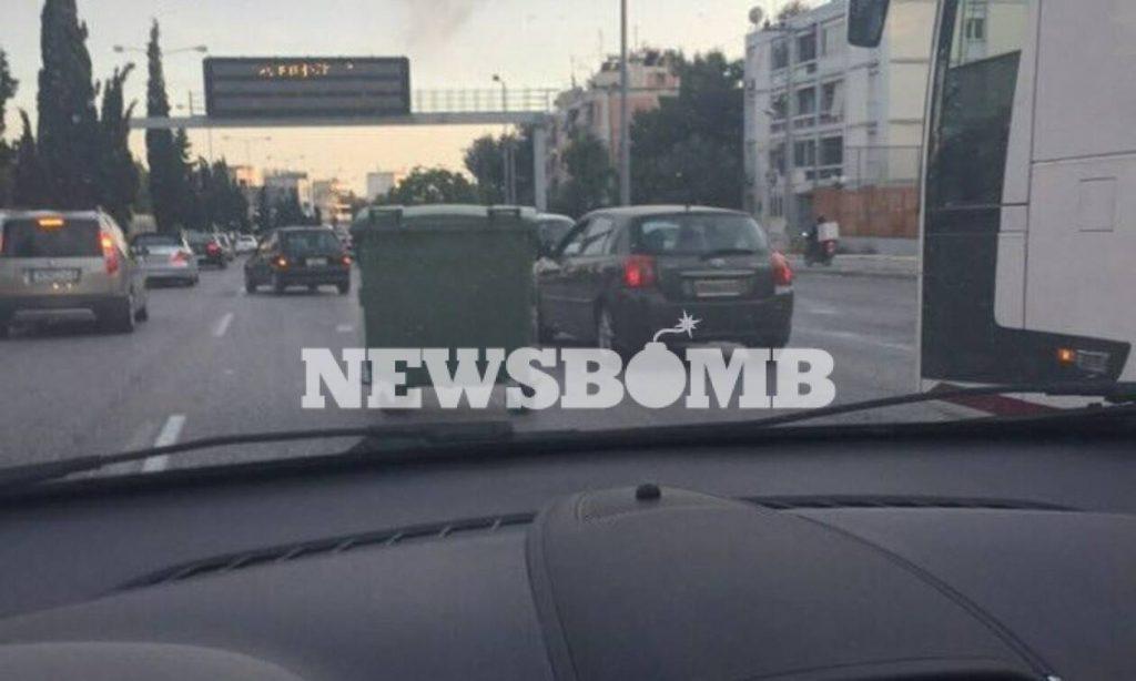 Ανθρωποκυνηγητό οπαδών της ΑΕΚ στην Εθνικό Οδό Αθηνών - Λαμίας