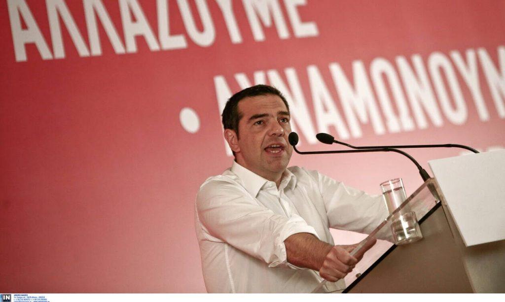 LIVE: Η ομιλία του Αλέξη Τσίπρα στην Κ.Ε. του ΣΥΡΙΖΑ