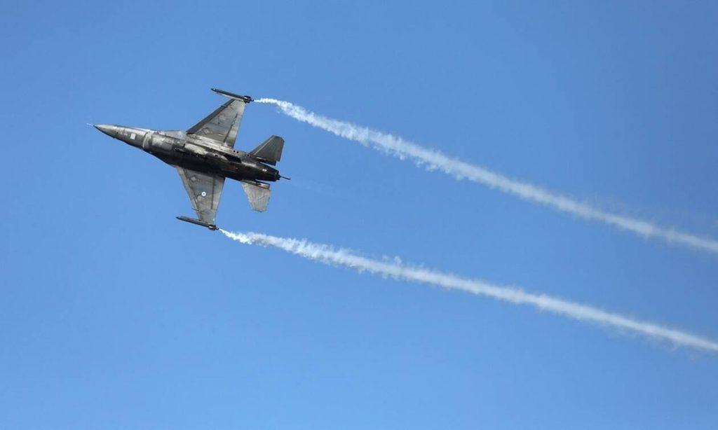 Εικονικές αερομαχίες στο Αιγαίο την ώρα της συνάντησης Μητσοτάκη - Ερντογάν