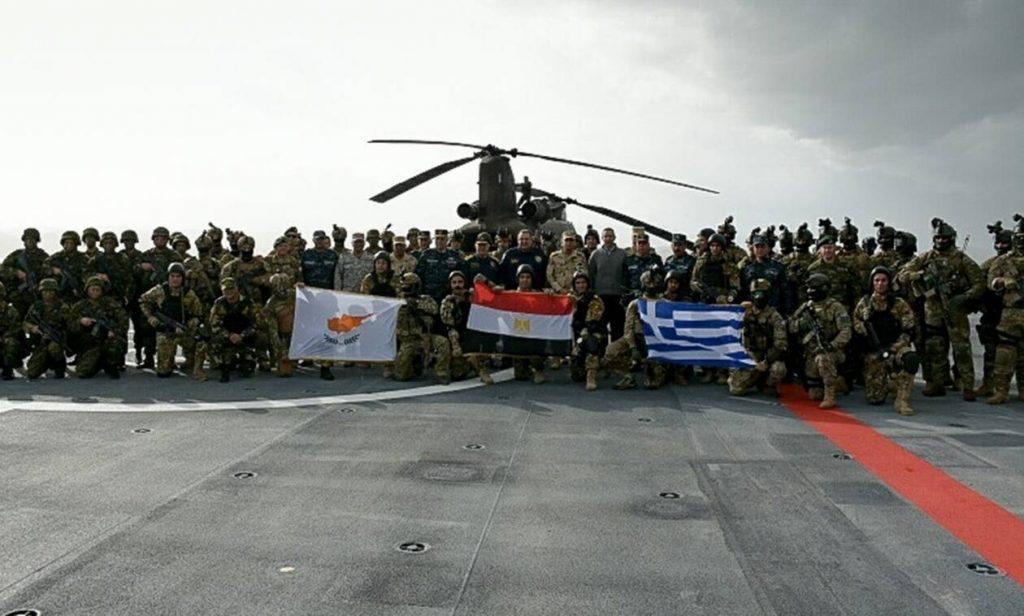 Το Newsbomb.gr στην άσκηση «Μέδουσα 9»: Ελλάδα, Κύπρος και Αίγυπτος απαντούν στην Τουρκία