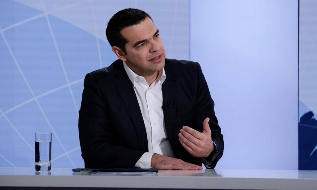 LIVE: Η συνέντευξη του Αλέξη Τσίπρα στο OPEN TV