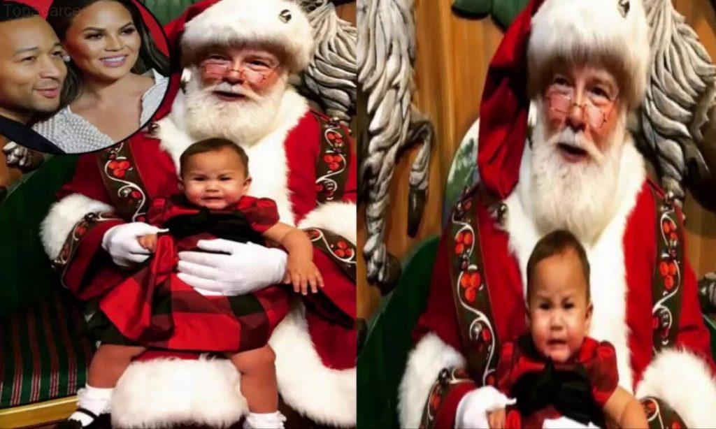 Διάσημοι γονείς φωτογραφίζουν τα παιδιά τους με τον Άγιο Βασίλη - Οι αντιδράσεις τους μοναδικές