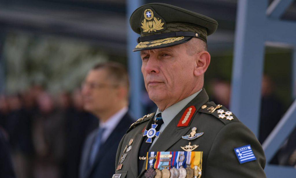 Νέος αρχηγός ΓΕΕΘΑ : Αποστολή μας η «προς πόλεμο προπαρασκευή»