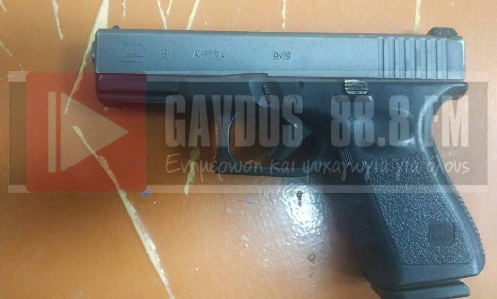 Διπλό φονικό στα Ανώγεια: Αυτό είναι το όπλο που παρέδωσαν μέλη της οικογένειας Ξυλούρη στις αρχές