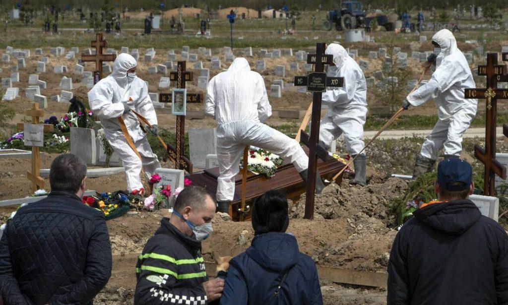 Ανάλυση CNNi: Καταστροφή στη Μόσχα - Διασπορά του ιού σε όλη τη ρωσική επικράτεια