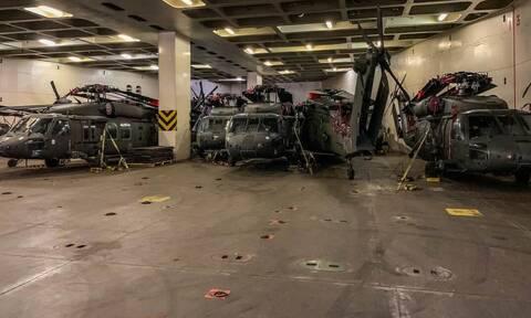 Συγκλονιστικές εικόνες: Η απόβαση των αμερικανικών Ενόπλων Δυνάμεων στην Αλεξανδρούπολη