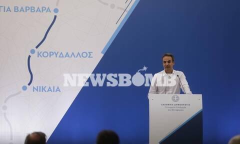Μητσοτάκης από Νίκαια: Η δυτική Αττική μπαίνει ξανά στο χάρτη - Ρεπορτάζ Newsbomb.gr