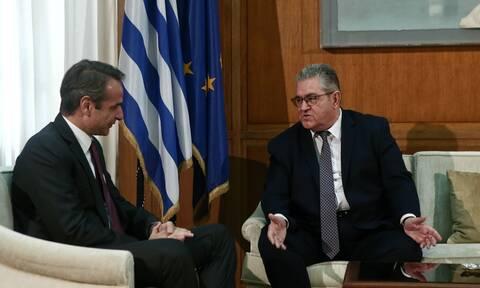 Συνάντηση Μητσοτάκη-Κουτσούμπα για ελληνοτουρκικά: Ο διάλογος για τις «αγκωνιές» και το... εσπρεσάκι