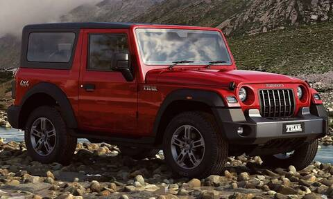 Το Mahindra Thar είναι κλώνος του Jeep Wrangler