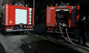 Φωτιά ΤΩΡΑ στα Καλύβια Θορικού - Συναγερμός στην Πυροσβεστική