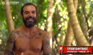 Survivor: «Κόλαση» στο αεροδρόμιο με τον Τριαντάφυλλο - Δείτε πώς τον υποδέχτηκαν