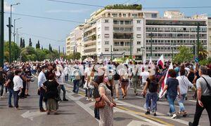 Απεργία: «Stop στον Χατζηδάκη» φωνάζουν οι διαδηλωτές - Ποιοι δρόμοι είναι κλειστοί