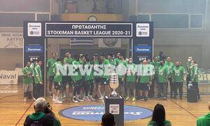 Basket League: Απόλυτος κυρίαρχος ο Παναθηναϊκός! - Κατέκτησε το 40ο πρωτάθλημα του (photos+videos)