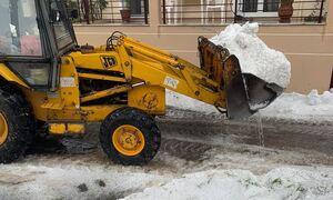 Κοζάνη: Ολόκληρες περιοχές καλύφθηκαν από χαλάζι - «Θάφτηκαν» αυτοκίνητα