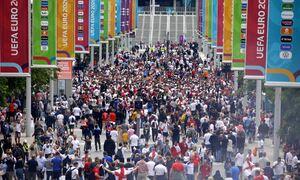 Euro 2020: Συναγερμός στο «Ουέμπλεϊ» - Τέθηκε θέμα ασφαλείας σύμφωνα με ανακοίνωση του γηπέδου!