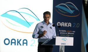 Μητσοτάκης: Το ΟΑΚΑ να είναι διαφήμιση της χώρας – Παρουσιάστηκε Master Plan για έργα 43 εκατ. ευρώ