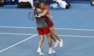 Ολυμπιακοί Αγώνες: Εντυπωσιακή πρόκριση για Τσιτσιπά και Σάκκαρη στο μικτό «διπλό»!