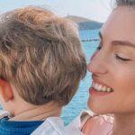 Αθηνά Οικονομάκου: Ο Μάξιμος και η Sienna έχουν τρελάνει τη Μύκονο (photos)