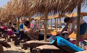 Κρήτη: Για μπάνιο στα Φαλάσαρνα ο Κυριάκος Μητσοτάκης