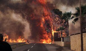 LIVE BLOG - Φωτιά στη Βαρυμπόμπη: Πύρινος εφιάλτης σε Θρακομακεδόνες, Αδάμες - Καίγονται σπίτια