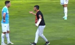 Τουρκία: Οπαδός την… έπεσε στον Τάσο Μπακασέτα την ώρα του αγώνα! (video)