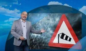 Προειδοποίηση Αρναούτογλου: Κόβεται στα δύο η χώρα - Άνεμοι 11 μποφόρ, θα πνέουν με 120 χλμ