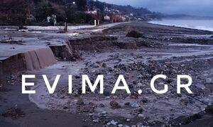 Κακοκαιρία «Αθηνά»: Βιβλική καταστροφή στη Β. Εύβοια  - «Δεν έμεινε τίποτα όρθιο», λέει ο δήμαρχος