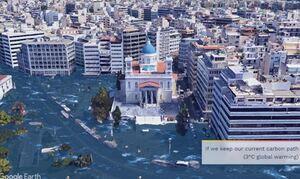 Εφιαλτικές εικόνες από το... μέλλον: Πώς θα είναι η Θεσσαλονίκη και ο Πειραιάς (pics-vid)