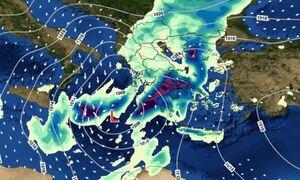 Κακοκαιρία: Πώς θα κινηθεί ο «Μπάλλος» - Τα δύο σενάρια για την τροχιά του «Μεσογειακού Κυκλώνα»